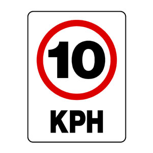 10 Kph Speed