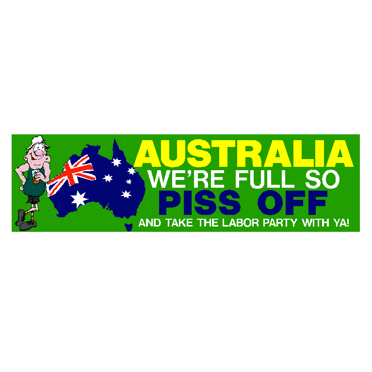 Australia We Are Full 01