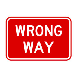 Road-Freeway-Wrong Way