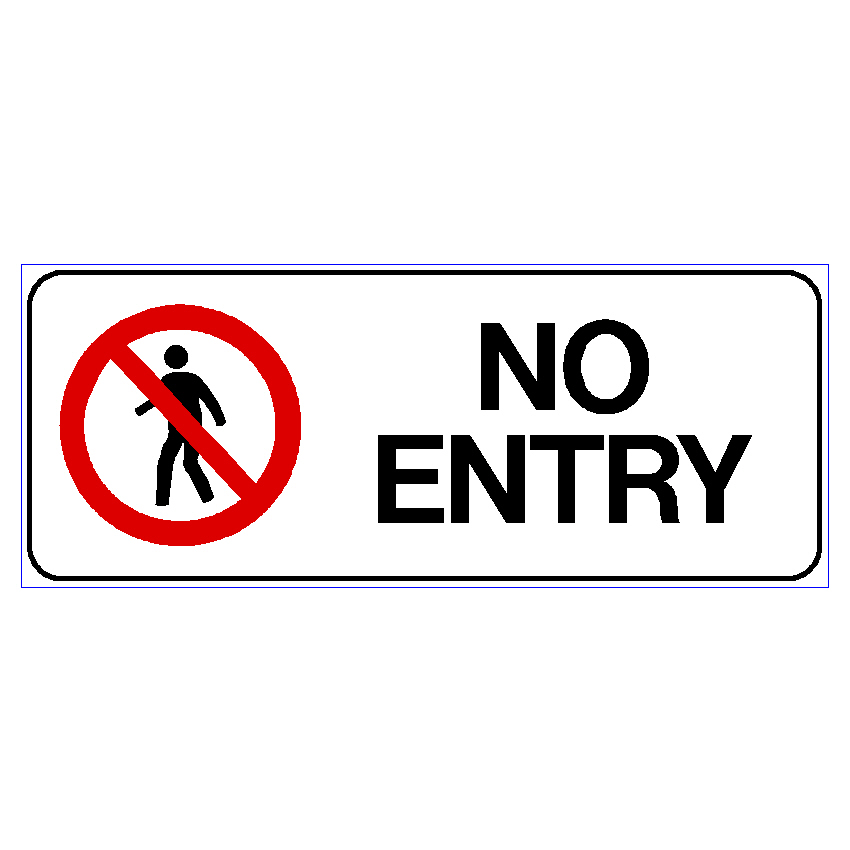 Prohibition No Entry
