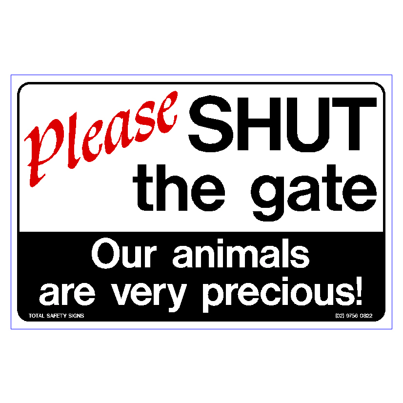 Please Shut The Gate 1