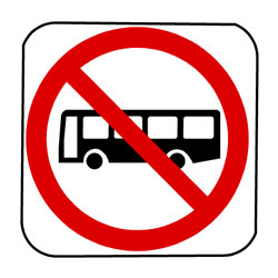 Road - Regulatory - No Bus