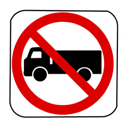 Road - Regulatory - No Truck