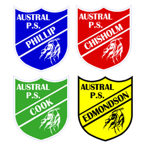 School Sporting House Crests