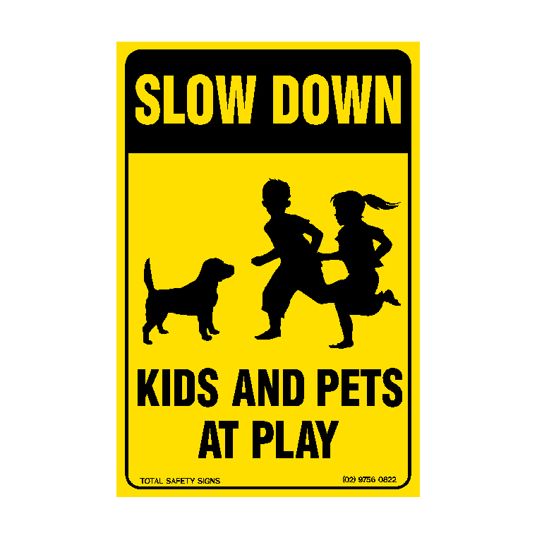 Slow Down - Kids & Pets at Play