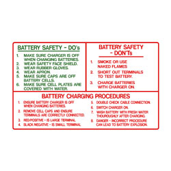 Battery Safety Do\\\\\\\'s & Don\\\\\\\'ts