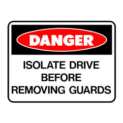 Danger Isolate Drive