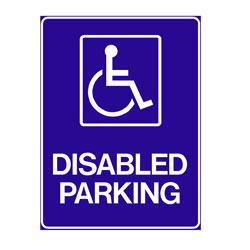Disabled - Disabled Parking