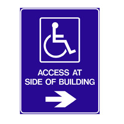 Disabled - Access At Side Of Building
