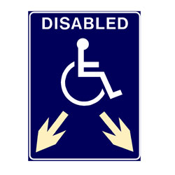 Disabled - Two Arrows