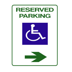 Disabled - Reserved Parking