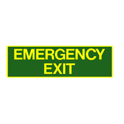 Exit - Emergency Exit