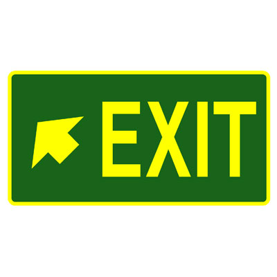 Exit - Exit (Upper Left Arrow)