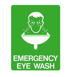 First Aid - Emergency Eye Wash