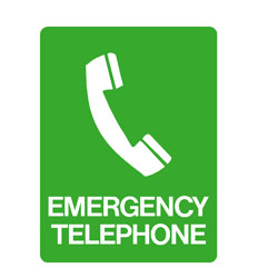First Aid - Emergency Telephone