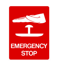 First Aid - Emergency Stop