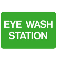 First Aid - Eye Wash Station