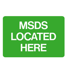 First Aid - MSDS Located Here