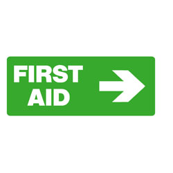 First Aid - First Aid ( Right Arrow)