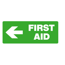 First Aid - First Aid ( Left Arrow )