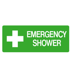 First Aid - Emergency Shower