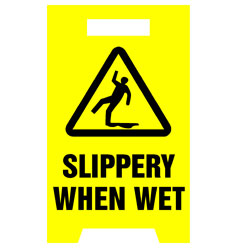 Floor Stand - Slippery When Wet