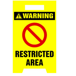 Floor Stand - Restricted Area