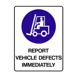 Mandatory Vehicle Defects