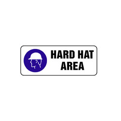 Mandatory - Hard Hat Area