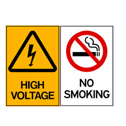 High Voltage - No Smoking