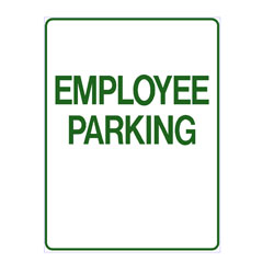 No Parking - Employee Parking