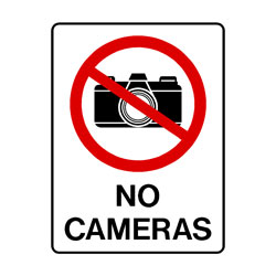 Prohibition No Cameras