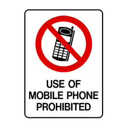 Prohibition Use Of Mobile Phones Prohibited