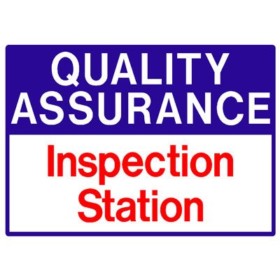 Quality Assurance - Inspection Station