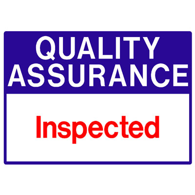 Quality Assurance - Inspected