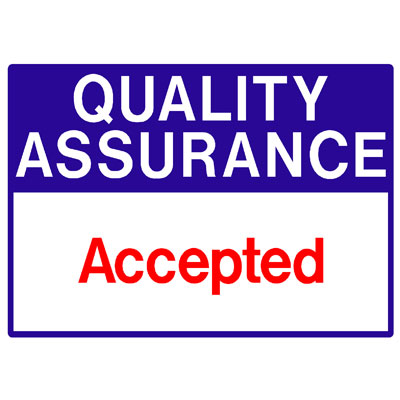 Quality Assurance - Accepted