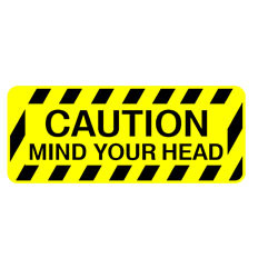 Safety Stair - Caution Mind Your Head