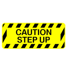 Safety Stair - Caution Step Up