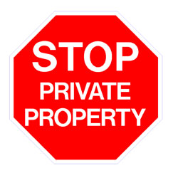 Security - Stop Private Property