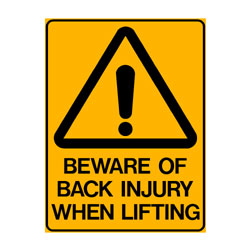 Warning Beware of Black Injury When Lifting