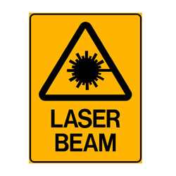 Warning-Laser Beam