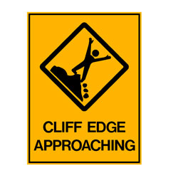 Water Saftey - Cliff Edge Approaching