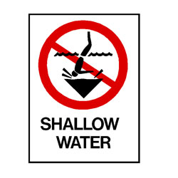 Water Safety - Shallow Water