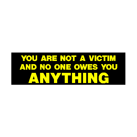 You are not a Victim 01